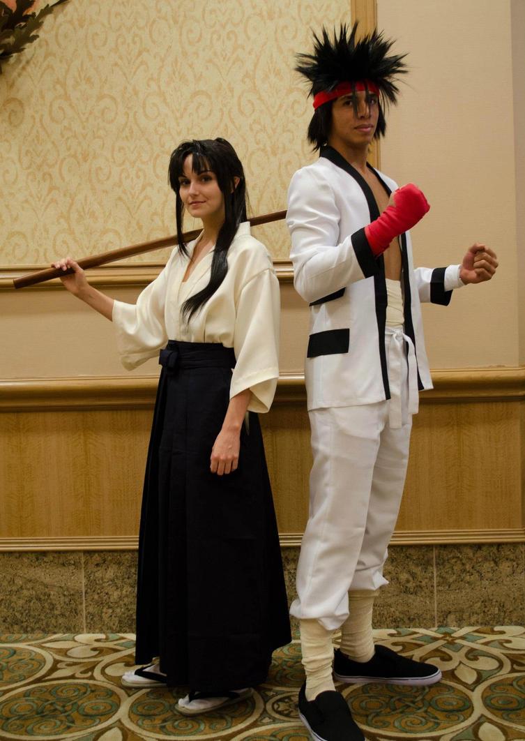 Rurouni Kenshin: Kaoru and Sanosuke by lovelyyorange on ...