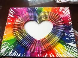 crayon heart by hollyziggy