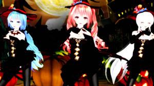 Mrs Pumpkin's (MMD)(Miku,Teto,Haku)