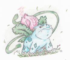 Ivysaur by NikkoAngelus