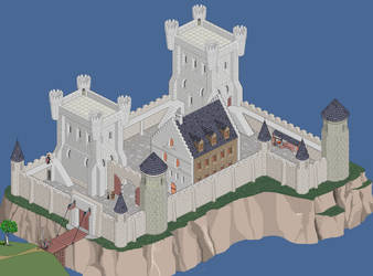 Working in a castle