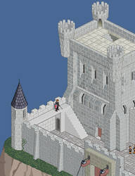 Working in a castle 2