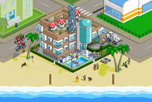 Pixel Hotel by daporta