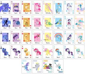 My Little Harmonies: Lenormand is Magic by runewynd
