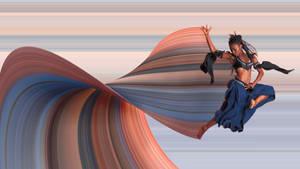Danseuse Bleue Et Noire-web by cenphil