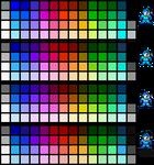 NES Palettes - Mega Man Edition