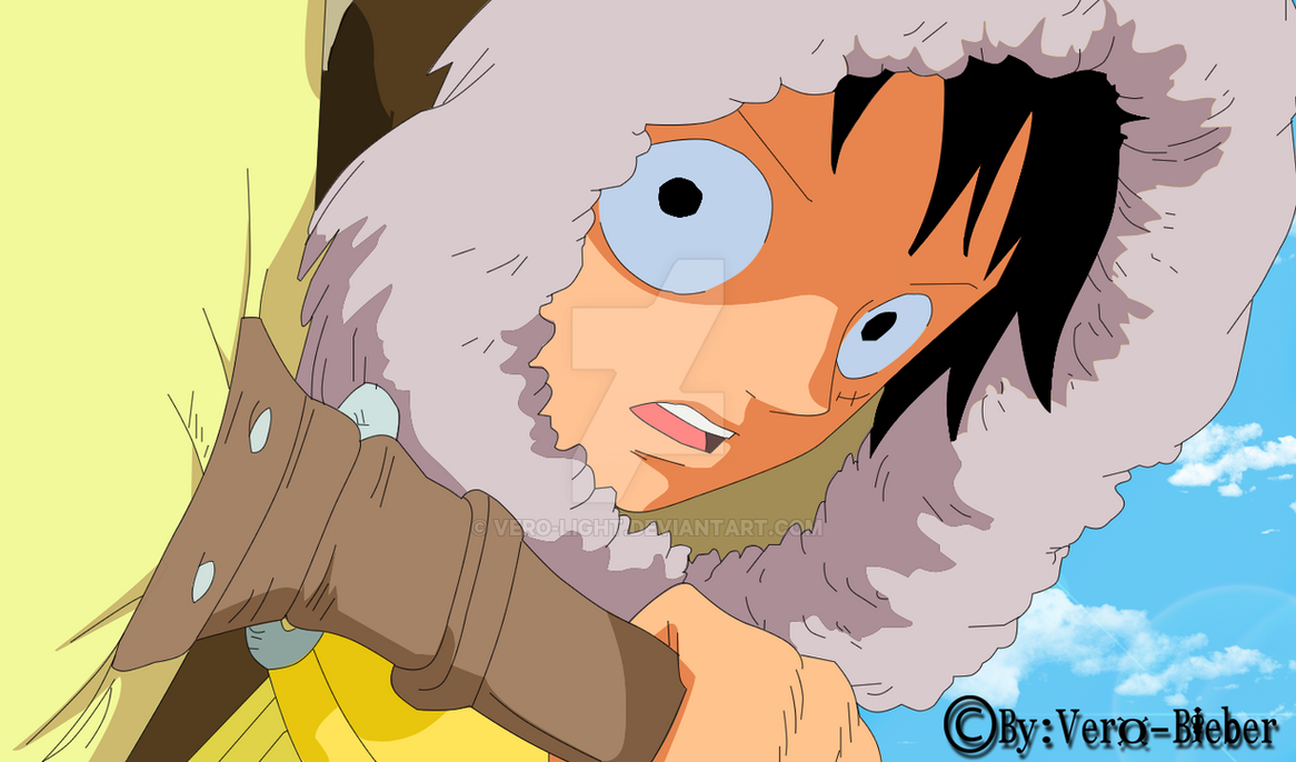 Luffy 2 years later by Vero-Light on DeviantArt