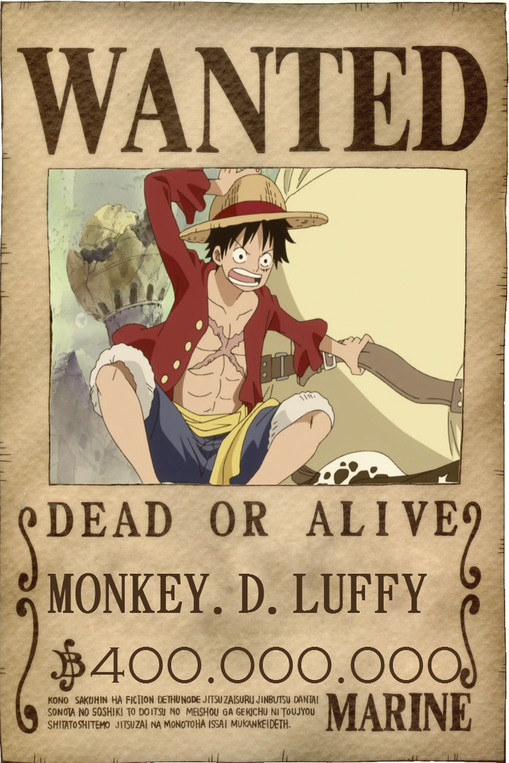 Luffy New Wanted by Vero-LightOne Piece Luffy Wanted Posters
