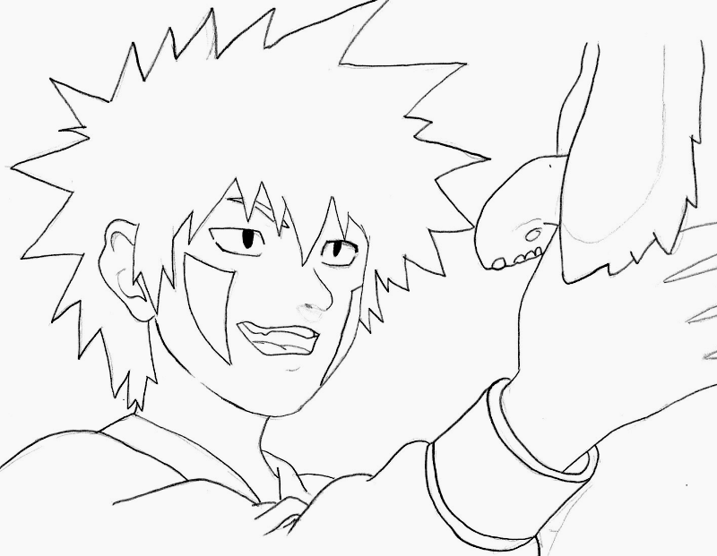 kiba coloring pages - photo#30