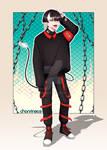 [OPEN] Adoptable Auction - Demon E-Boy by chanrin903
