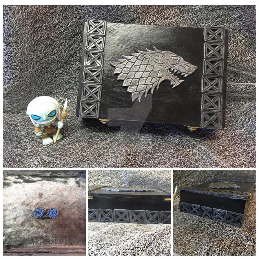 House Stark Box by ColorfulCupcakez