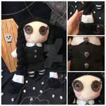 Wednesday Addams Plushie Doll