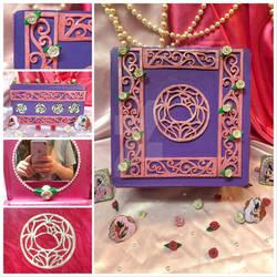 Revolutionary Girl Utena Rose Seal Jewelry Box