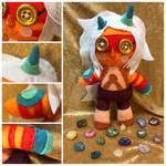Jasper Plushie by ColorfulCupcakez