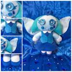 Aquamarine Plushy by ColorfulCupcakez