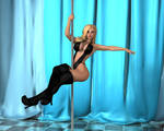 Jenny Poussin - Poledance