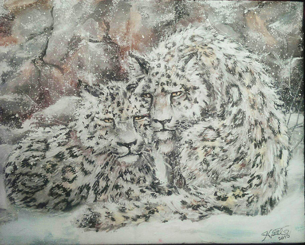 leos painting by Katia-Gagne