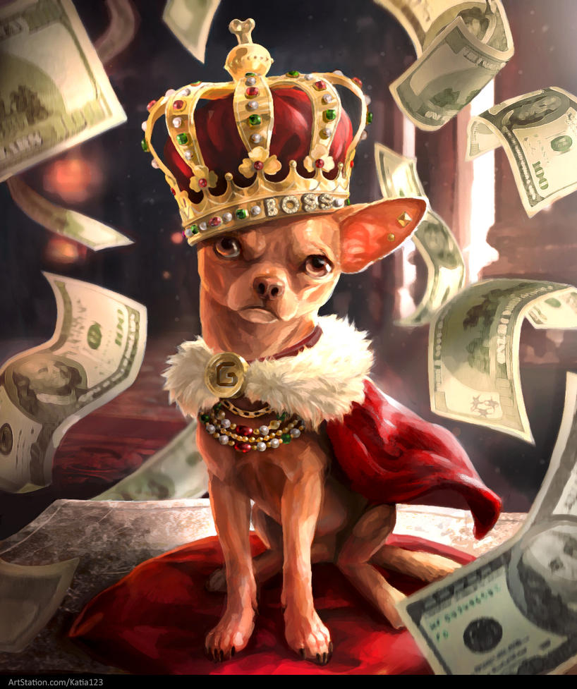 Born to be rich by Katia-Gagne