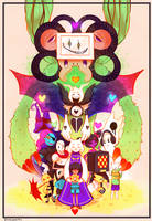 Undertale by Pinnapop