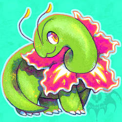 Meganium by Pinnapop