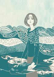 Fishes by Dasha-Crawford