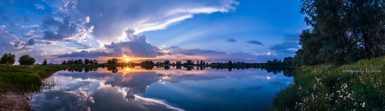 Ein Abend am See by FeliDae84