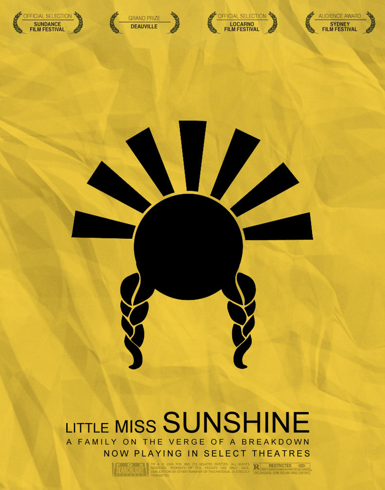 Little Miss Sunshine Movie Poster by AuraDesigns on deviantART