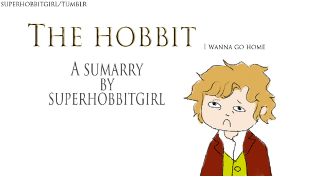 a summary of the hobbit The hobbit summary - the hobbit by j r r tolkien summary and analysis.