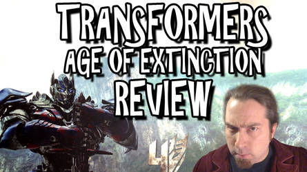 Transformers: Age of Extinction Review Titlecard
