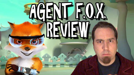 Agent F.O.X. Review Titlecard