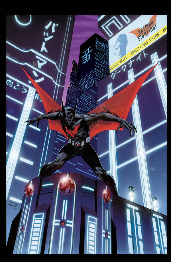 Batman Beyond by duanenicholsart