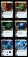 MAINFRAME - Player Card Fronts by duanenicholsart