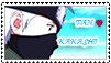 Kakashi Fan Stamp by SheepTea