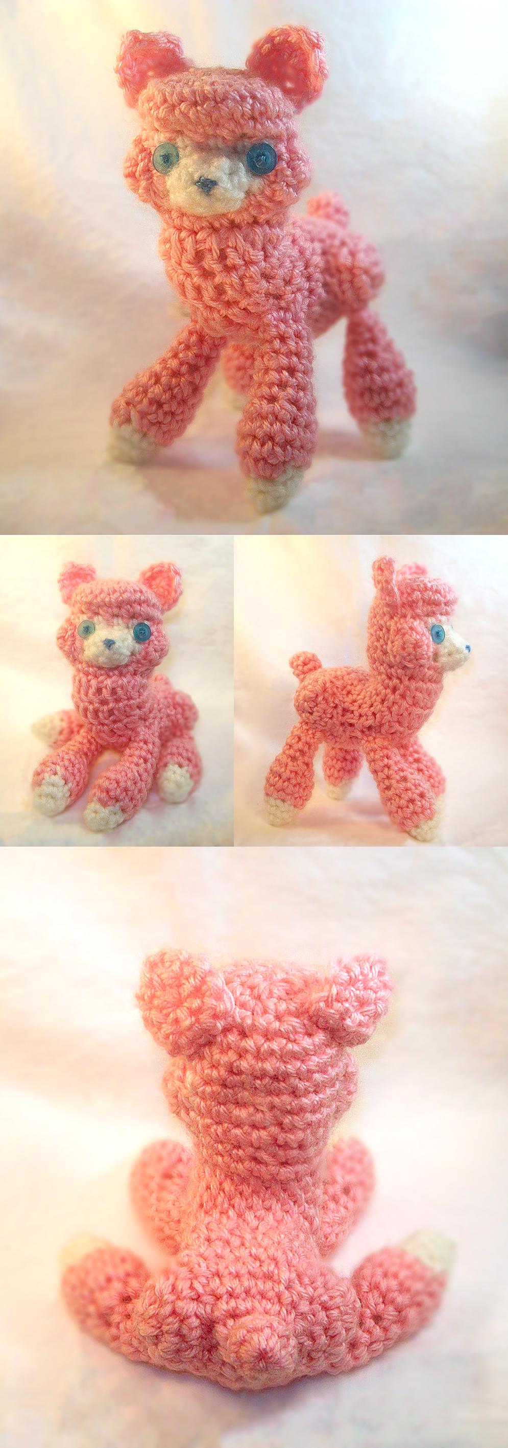 Amigurumi Alpacasso : Amigurumi Alpaca by RainbowReverie on DeviantArt