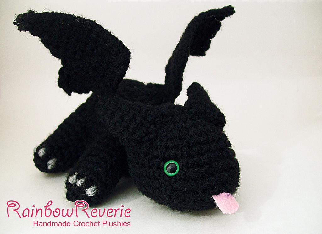 Vincent the Dragon | Free Crochet Pattern Amigurumi | Hooked by Kati | 746x1024
