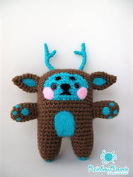 Forest Spirit Animal Totem Amigurumi Plush by RainbowReverie