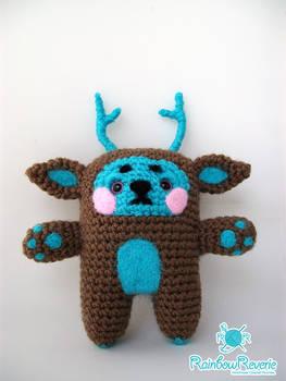 Forest Spirit Animal Totem Amigurumi Plush
