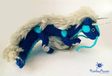 Eastern Dragon Amigurumi Commission by RainbowReverie