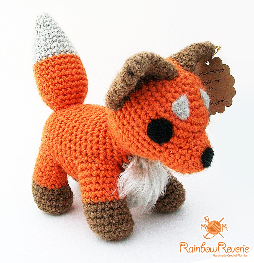 Amigurumi Fox by RainbowReverie on deviantART