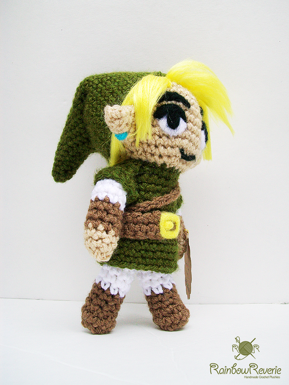Link Amigurumi mark 2 by RainbowReverie on DeviantArt