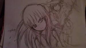 Mor-san x Yunan sketch