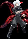 Tokyo Ghoul :Kaneki Ken Render Kagune ver