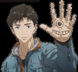 Kiseijuu:Shinichi  render by AyakaYukihiro