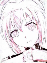 Senou Natsuru  test sketch