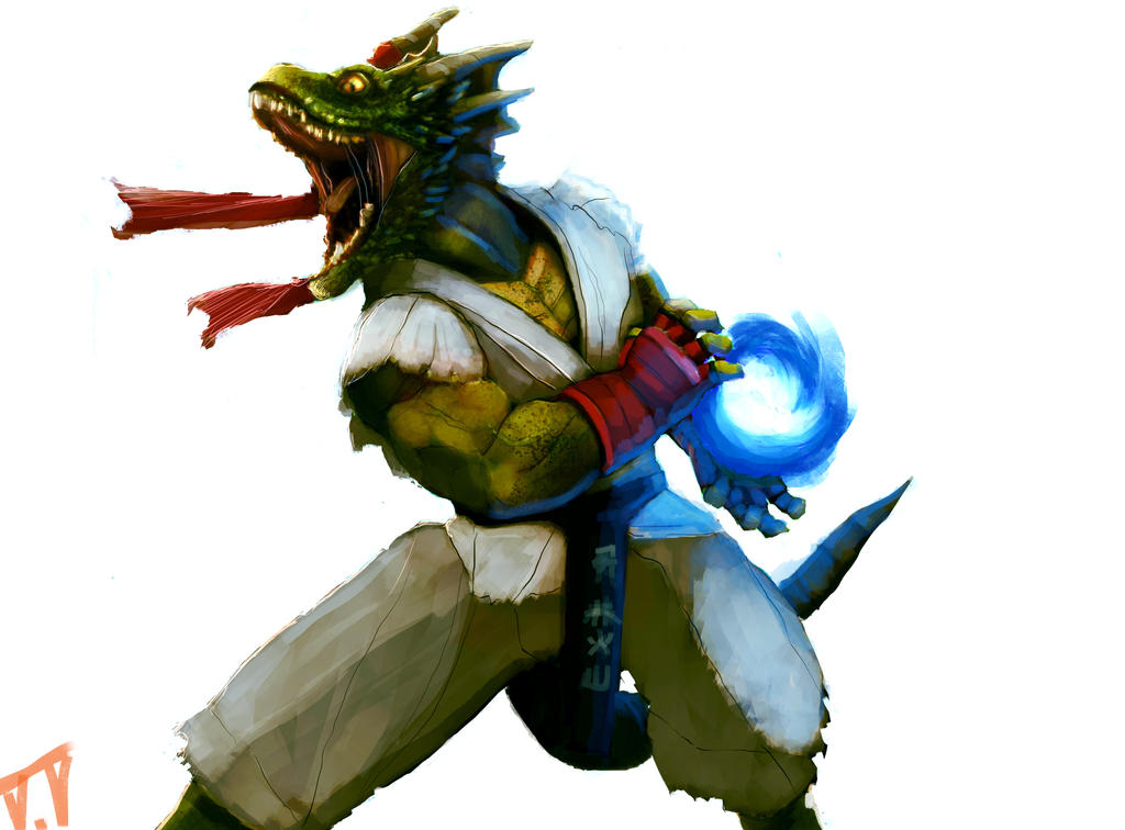 Dragon Ryu by THE-SEXY-BEAST