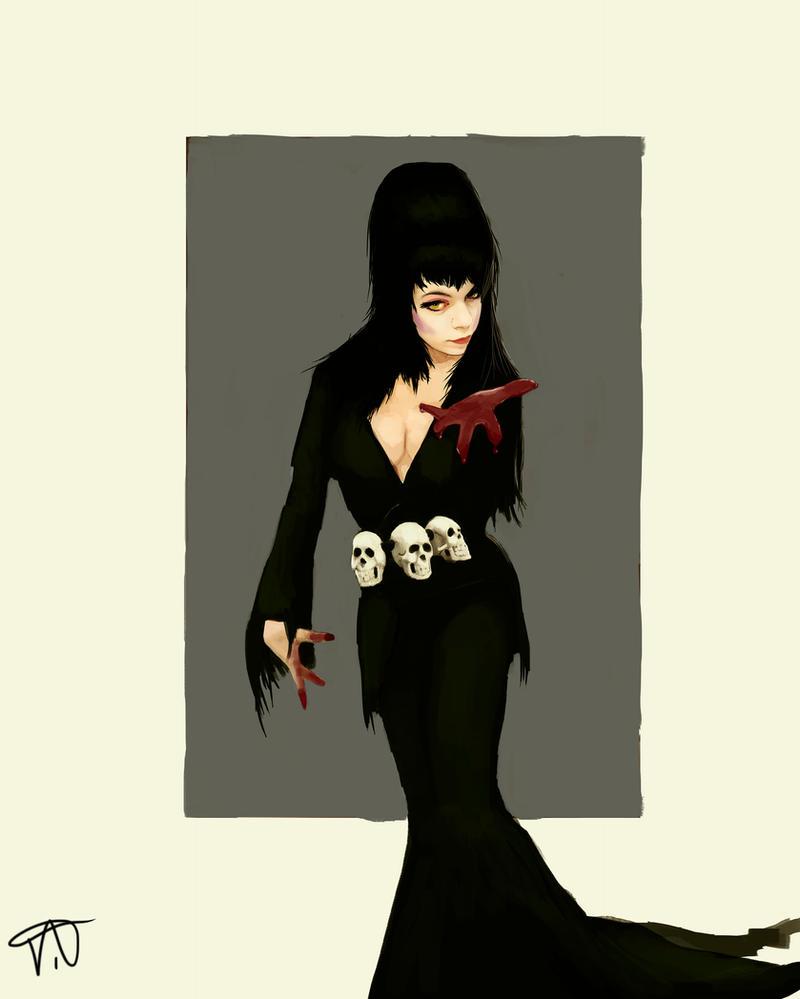 Elvira by THE-SEXY-BEAST
