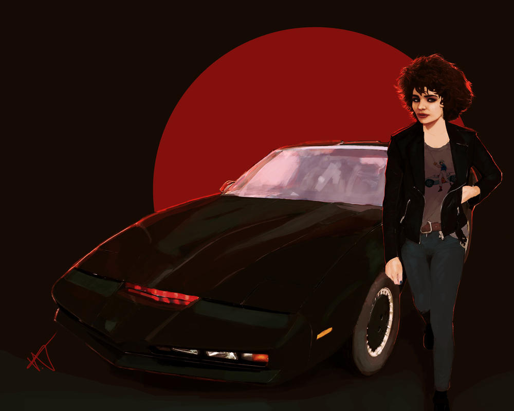 Knight Rider by THE-SEXY-BEAST