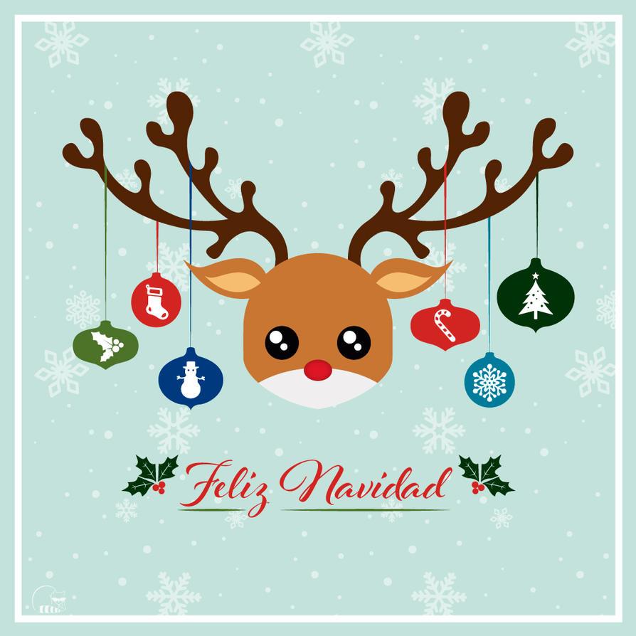 Feliz Navidad by chibineko4