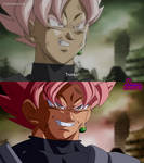 Black Goku Drawing By Kitano Correction