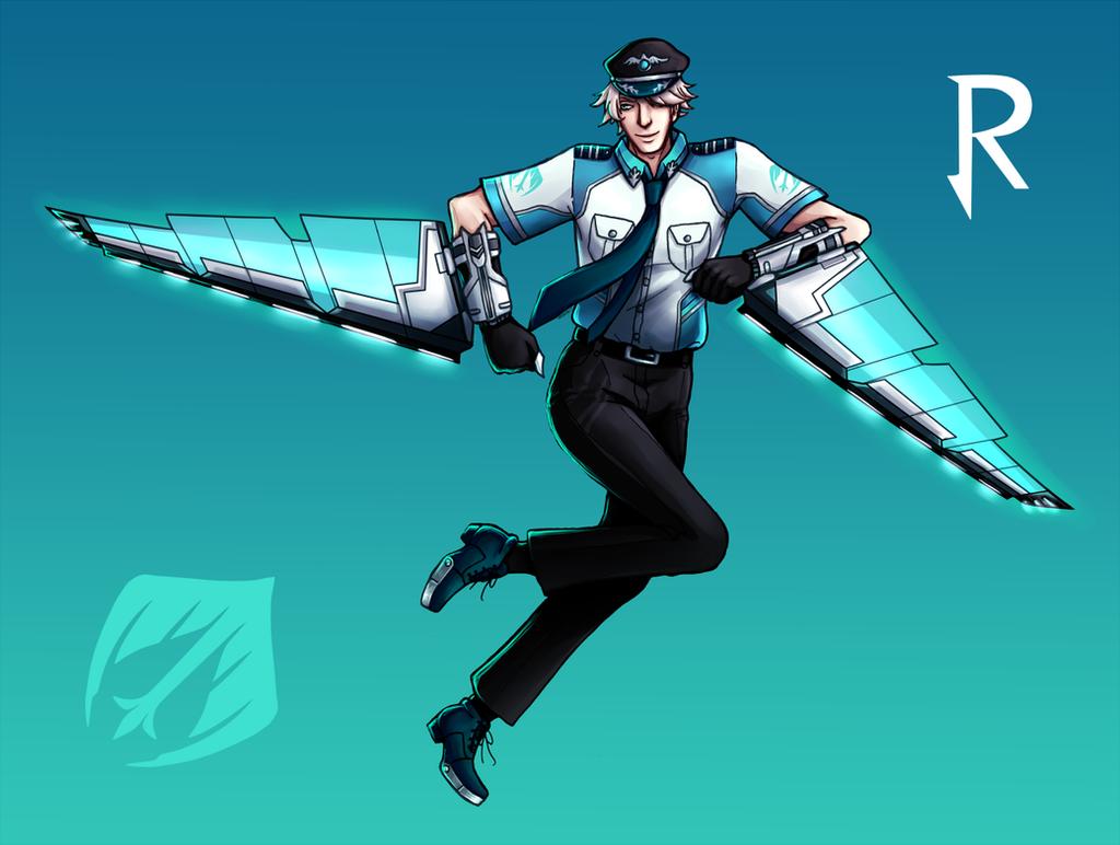 Rwby fan weapons